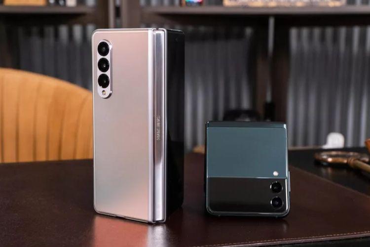 Samsung Galaxy Z Fold 3 dan Galaxy Z Flip 3