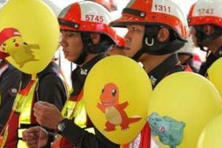 Polisi Pokemon Thailand