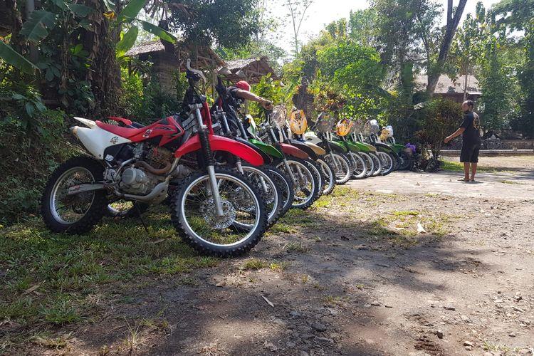 Wisata motor trail di Borobudur