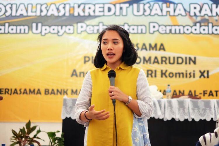 Anggota Komisi XI DPR RI Puteri Anetta Komarudin meminta pemerintah segera melakukan upaya-upaya dalam rangka percepatan pemulihan ekonomi.