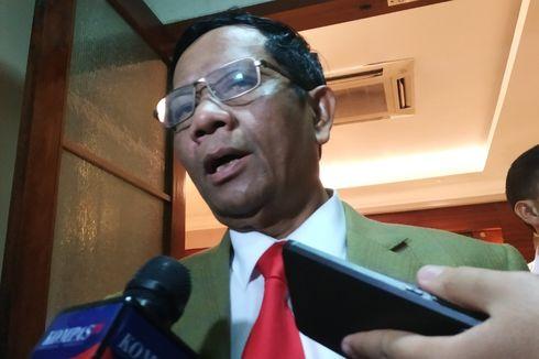 Mahfud MD Ungkap Kemungkinan Kejutan di Susunan Dewan Pengawas KPK