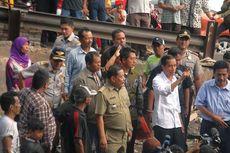 Jokowi Tambah Lahan Parkir di Pasar Blok G Tanah Abang