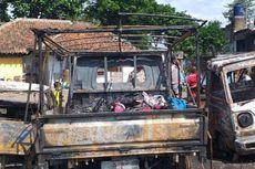 Gara-gara Dituding Curi Ayam, Pria di Tasikmalaya Bakar 3 Mobil Tetangga
