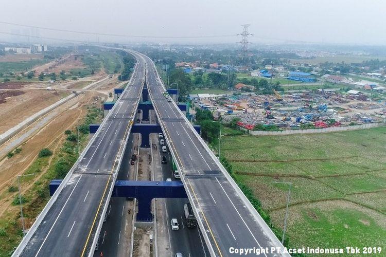 Salah satu proyek yang tengah dikerjakan oleh PT Acset Indonusa Tbk