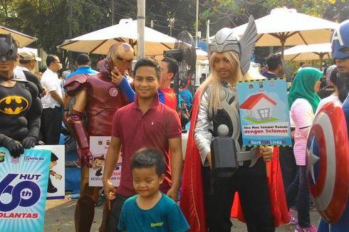 Ceria Bersama Batman, Iron Man, Captain America dan Thor di CFD