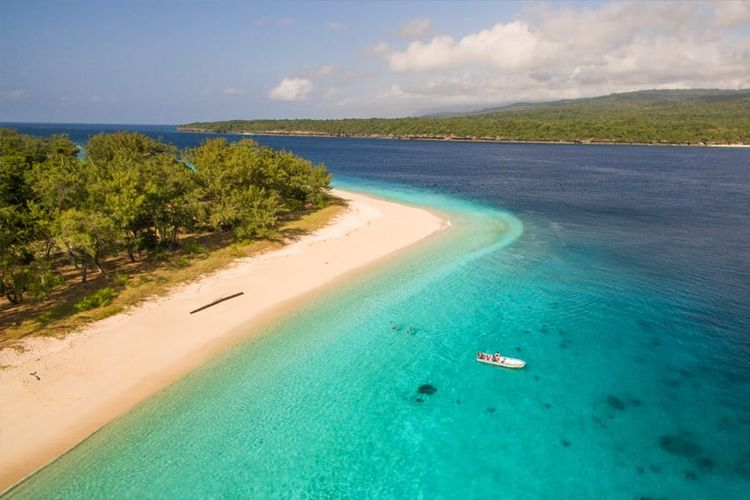 Ilustrasi Timor Leste - Pulau Jaco.