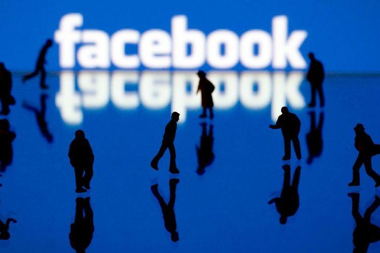 An illustration of Facebook