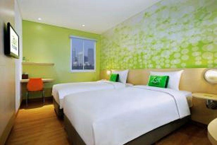 Kamar di Zest Hotel Bogor