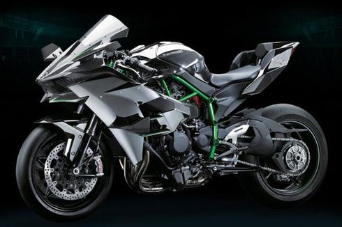 Ini Kecepatan Maksimal Kawasaki H2R