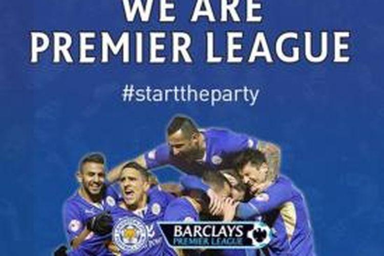 Leicester City memastikan promosi ke Premier League mulai musim 2014-15.