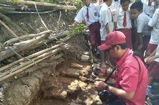 Bata Kuno Bekas Fondasi Rumah Ditemukan di Dawarblandong Mojokerto