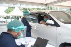 Grab Buka Pusat Vaksinasi Drive Thru Pertama di Indonesia
