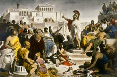 Aspek Kehidupan Peradaban Yunani Kuno