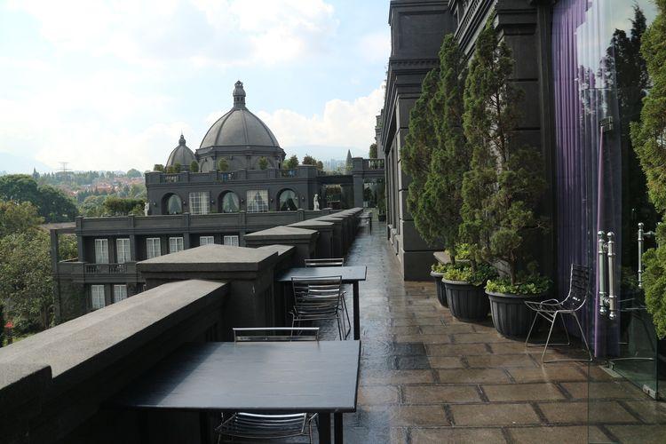 Santai Sore di Restoran Gaya Eropa Sambil Lihat Kota Bandung dari  Ketinggian Halaman all - Kompas.com