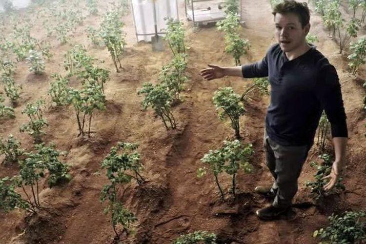 Karakter Matt Damon dalam film The Martian