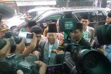 Ma'ruf Amin Beri Sejumlah Pesan Saat Bertemu PWNU DKI Jakarta