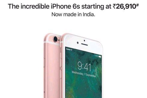 iPhone 6S Dijual Lagi di India dengan Harga Lebih Murah