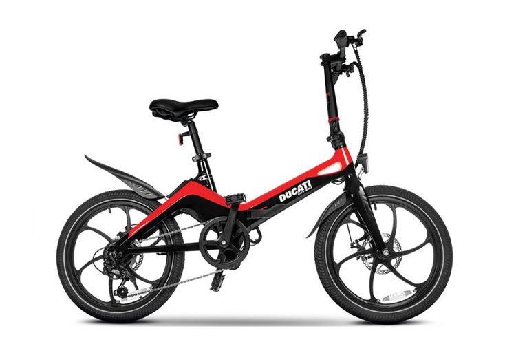 Sepeda lipat listrik Ducati MG-20