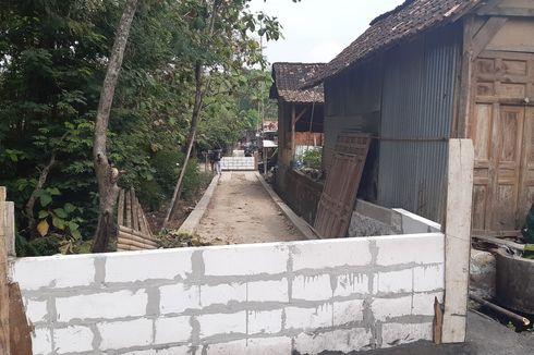 Tak Terima Lahannya Dibangun, Warga di Sragen Tutup Jalan dengan Tembok