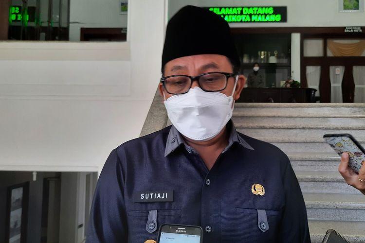 Wali Kota Malang, Sutiaji saat ditemui di Balai Kota Malang, Selasa (20/4/2021).