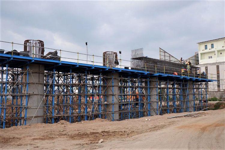 Proyek Jalan Tol Solo-Yogya-YIA Kulon Progo sudah mulai berjalan pada seksi 1 Kartasura-Purwomartani