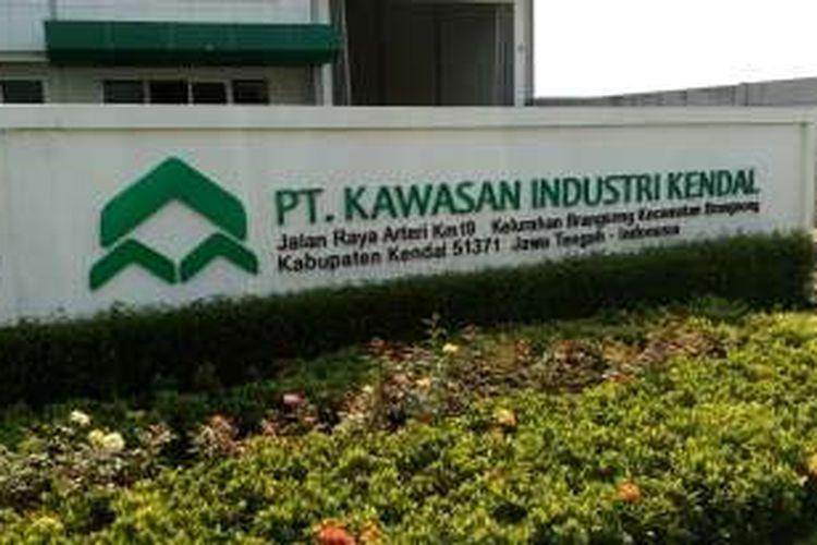Kawasan Industri Kendal di Kendal, Jawa Tengah.
