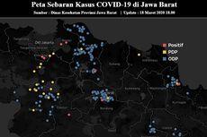 Update Sebaran Covid-19 di Jawa Barat Per 18 Maret