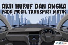 INFOGRAFIK: Arti Huruf dan Angka pada Mobil Transmisi Matik