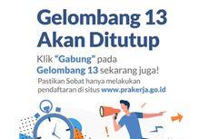 Login www.prakerja.go.id untuk Cek Peserta Lolos Prakerja Gelombang 13