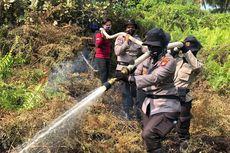 Cerita Polwan yang Berjibaku Memadamkan Kebakaran Hutan di Riau