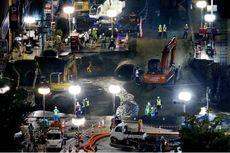 Melihat Perbaikan Jalan Ambles di Jepang yang Selesai dalam Tujuh Hari