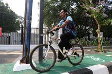 Mulai 20 September, Ada Uji Coba Jalur Sepeda di 17 Jalur di Jakarta