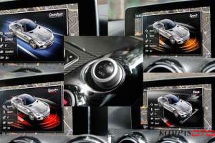 Test drive Mercedes-Benz AMG GTS. Mode berkendara pada sportscar Mercedes-Benz