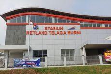 Stasiun KRL Metland Telaga Murni di Bekasi Diuji Coba