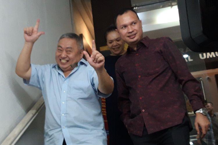 Penangguhan penahanan dikabulkan, Lieus Sungkharisma dibebaskan, Senin (3/6/2019)