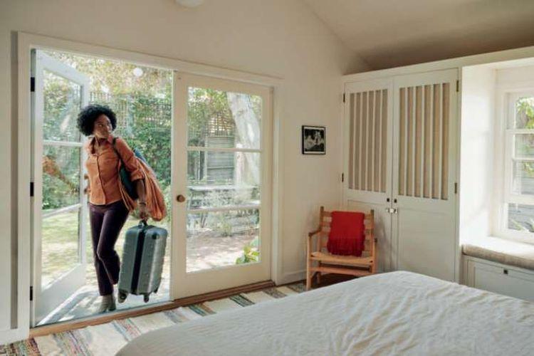 Salah satu contoh rumah yang disewakan oleh Airbnb.