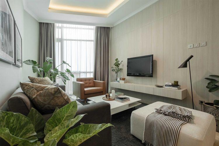 Tanaman hijau untuk dekorasi interior karya Makai Design