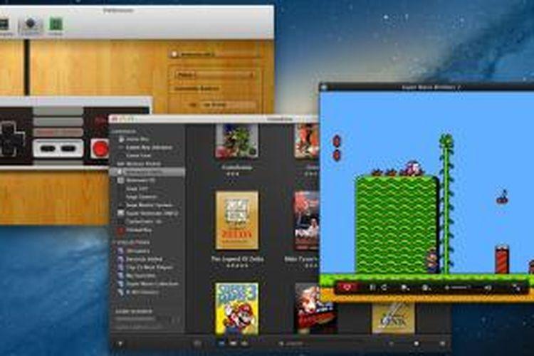 OpenEmu, emulator game klasik untuk Mac