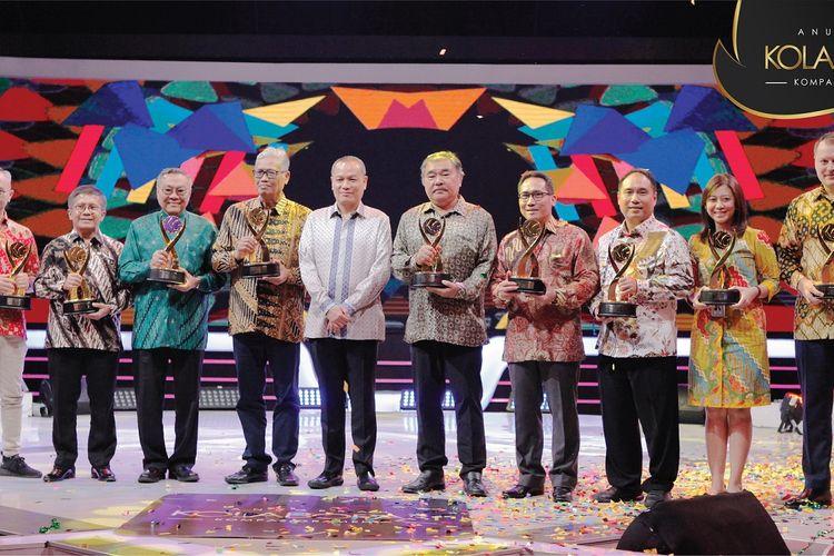 Kompas Gramedia (KG) menggelar Anugerah Kolaborasi untuk memberikan apresiasi kepada mitra-mitranya yang telah berpartisipasi dalam proyek kolaborasi unit bisnis Kompas Gramedia