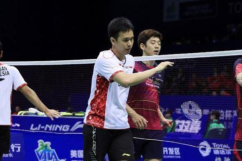 Laga Seru Ahsan/Hendra vs Lee Yong Dae/Kim Ki Jung pada Babak Kedua Singapore Open 2019