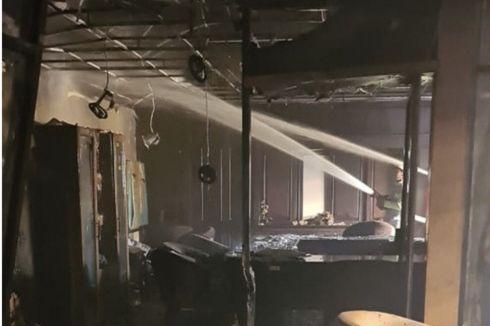 Satu Ruangan Fraksi DPRD Kaltim Hangus Terbakar