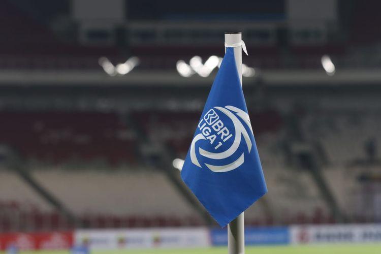 Ilustrasi Liga 1 2021-2022.