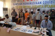 Antisipasi Tawuran Antarpemuda, Aparat dan Warga Patroli di Wilayah Kalibaru, Cilincing
