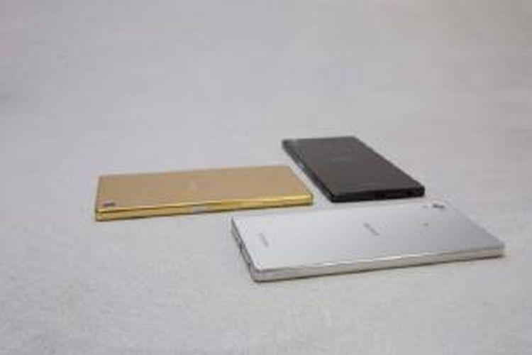 Trio Sony Xperia Z5, Z5 Compact dan Z5 Premium