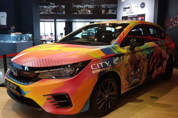 Honda City Hatch Art