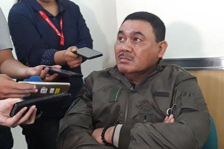 Ketua Pansus Pemilihan Wagub DKI Jakarta Ongen Sangaji di Gedung DPRD DKI Jakarta, Selasa (16/7/2019)