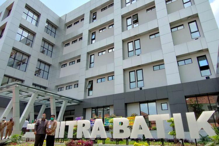 Gedung baru ruangan khusus isolasi Covid-19 di RSUD Soekardjo Kota Tasikmalaya, mulai dipenuhi oleh pasien terkonfirmasi pada Jumat (25/9/2020).
