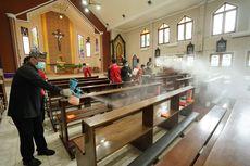 Cegah Corona, Rumah Ibadah Lintas Agama di Banyuwangi Disemprot Disinfektan