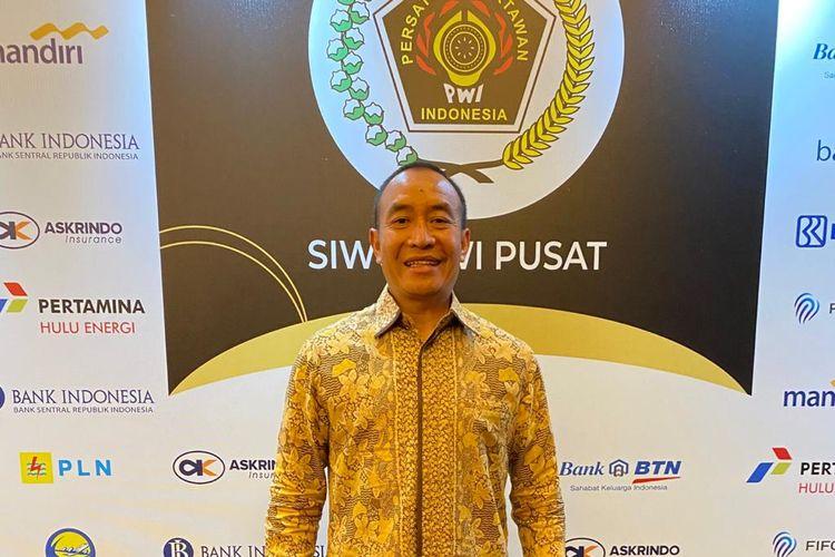 Ketua Umum Persatuan Rugby Union Indonesia, Didik Mukrianto, menerima penghargaan sebagai tokoh Penggerak Olahraga Indonesia.