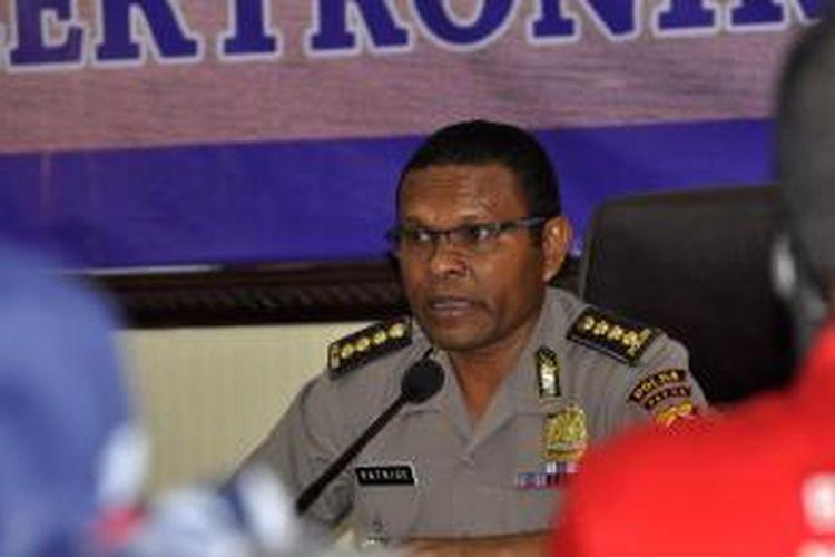 Kabid Humas Polda Papua, Kombes Patrige Renwarin